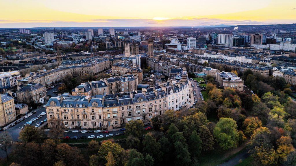 Historisches Glasgow